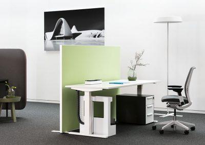 Akustikstellwand Tischabsorber Office